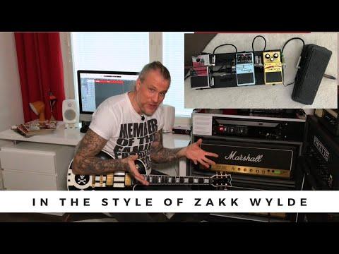 In The Style Of - ZAKK WYLDE
