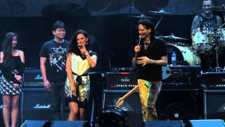 Steve Vai - Build Me A Song (with Alif Putra) (Live in Singapore 2014)