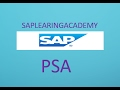 What is PSA in SAP BI
