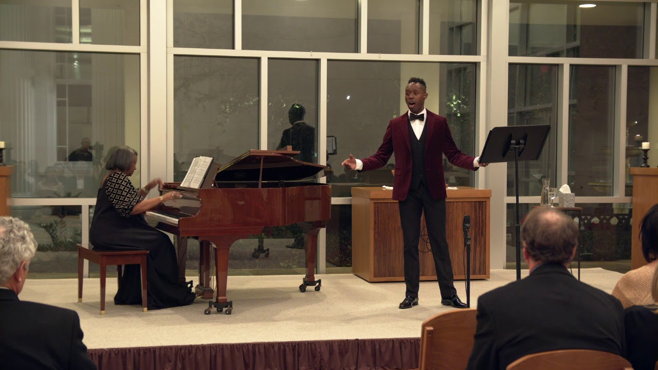 Donovan Black (countertenor), Dr. Barbara M. Bouie (piano) - When I Have Sung My Songs, E. Charles