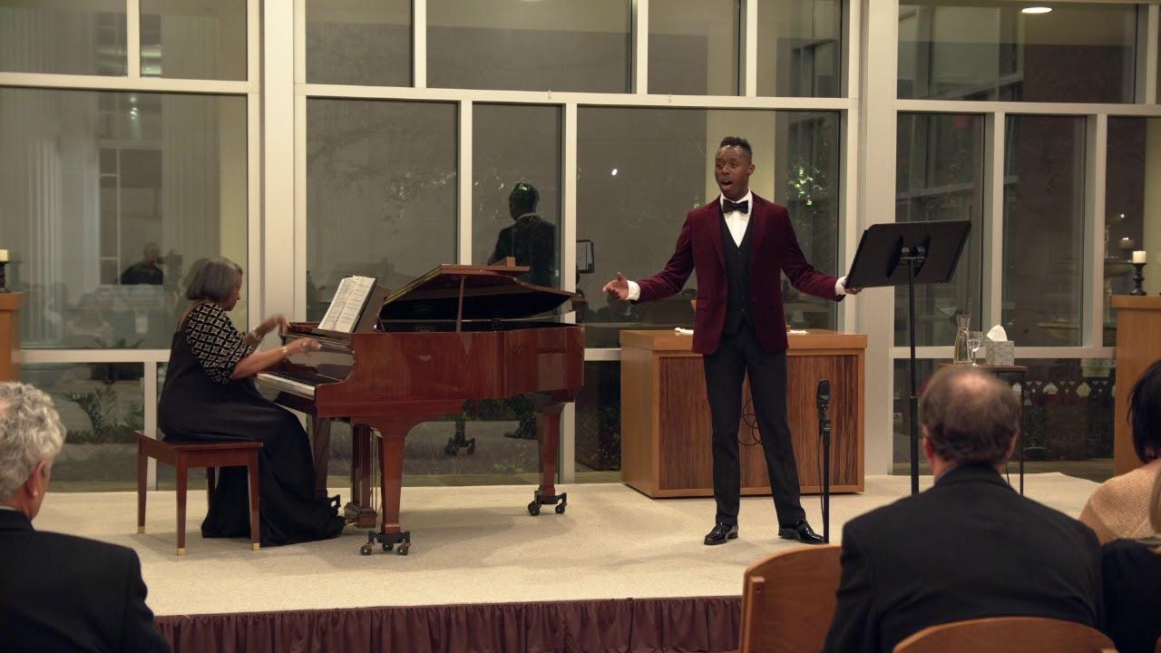 Donovan Black (countertenor), Dr. Barbara M. Bouie (piano) - When I Have Sung My Songs, E. Charles