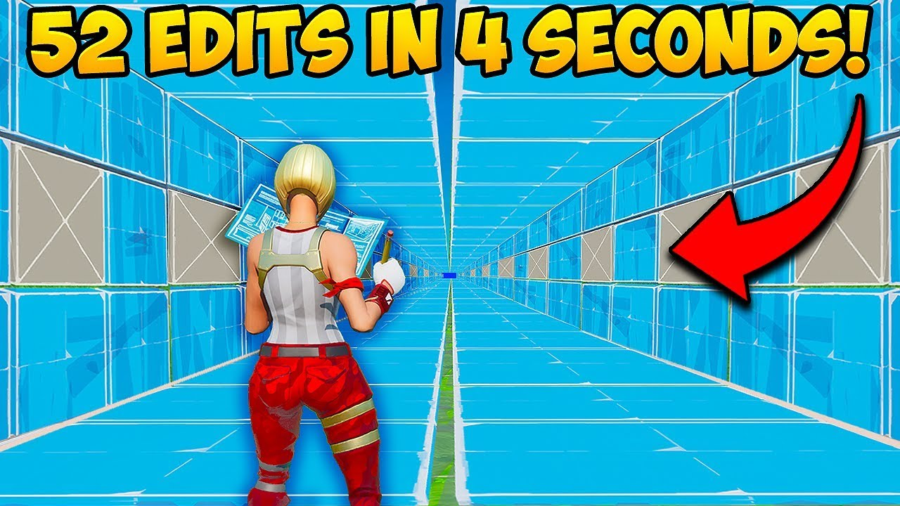 *WORLD RECORD* 52 EDITS in 4 SECONDS!! - Fortnite Funny Fails and WTF Moments! #835