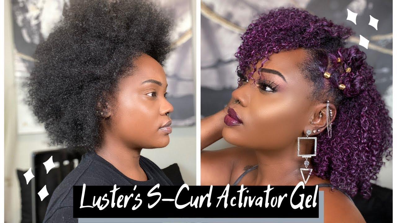 My Fullest, Most Hydrated Wash & Go //Luster's S Curl Gel (Under $10)