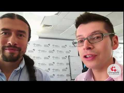 Luis Miguel Bermúdez desde Dubái en el marco del Global Teacher Prize 2018