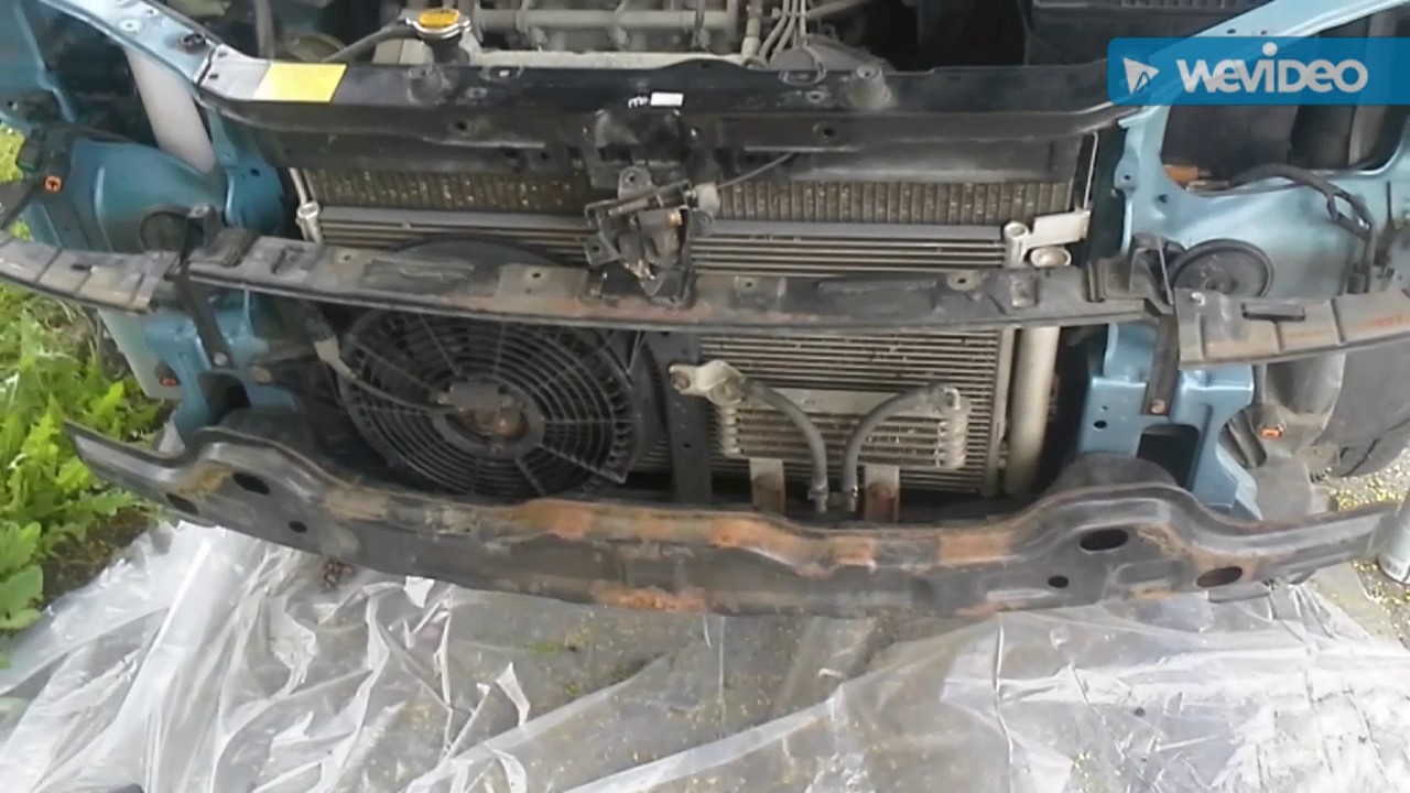 2006 Hyundai Tucson Wiring Schematic How To Replace The Radiator On A 2004 Hyundai Santa Fe 2 7