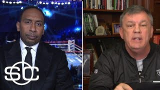Stephen A. Smith and Teddy Atlas argue about fighter responsibilities | SportsCenter | ESPN