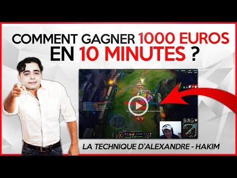COMMENT GAGNER 1000 EUROS EN 10 MINUTES ?