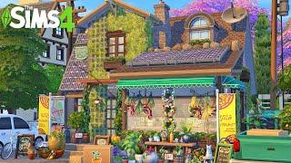 CUTE LITTLE FLOWER SHOP 🌸 The Sims 4 Speed Build