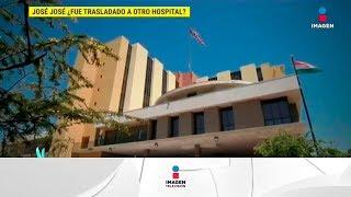 ¡Cambian a José José de hospital en Miami! | De Primera Mano