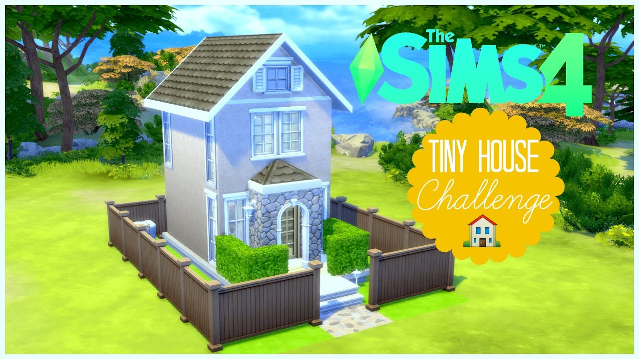 The Sims 4 Tiny House Challenge Youtube