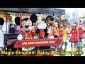 Magic Kingdom Rainy Day Cavalcade Parade with Mickey, Minnie, Donald, Nick & Judy, Genie+