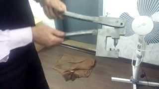ПУКЛЕВАТЕЛЬ РУЧНОЙ(Ручной пресс предназначен для присоединения фланцевой шины (