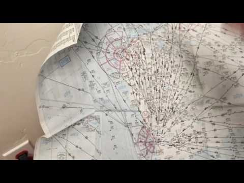 International aviation charts for pilots show distances accurately.