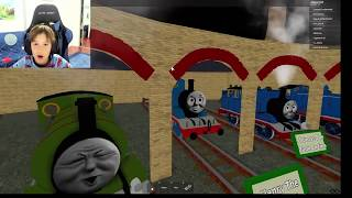 THOMAS AND FRIENDS:THE COOL BEANS RAILWAY TWO (11) - Roblox