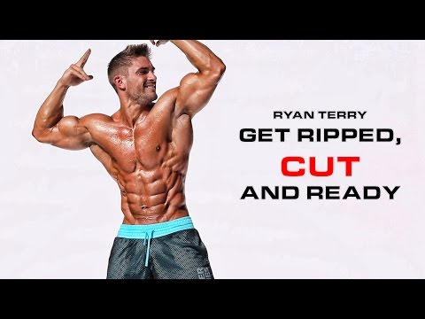 Shredded for competition Ryan Terry gives his advice