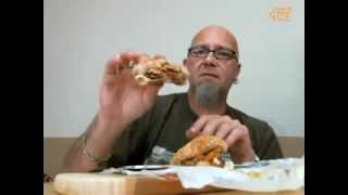 The GTM? Show - BK Fry Burger VS. Checkers Fry Lovers Burger
