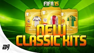 FIFA 15 | NEW CLASSIC KITS ON ULTIMATE TEAM!?!?