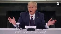 """Trumps Corona-Prophylaxe: """"Ich nehme es seit anderthalb Wochen, und ich bin noch hier"""""""