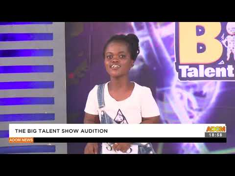 The Big talent show audition - Adom TV News (16-9-21)