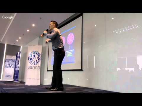 Silver Director Sandy Gunawan Health and Freedom Presentation USANA Indonesia