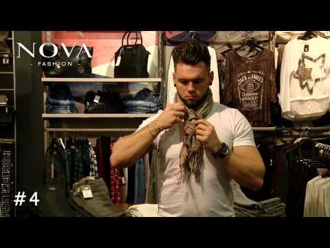 5 Techniken Schals richtig zu binden / NOVA-Fashion