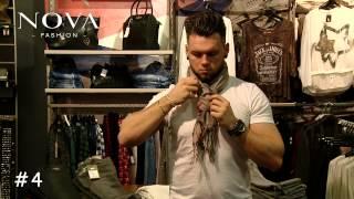 5 Techniken Schals richtig zu binden / NOVA-Fashion thumbnail
