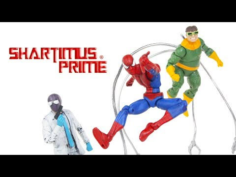 Marvel Legends Custom Doc Ock, Rose, and Big Time Classic Spider Man Custom Showcase Review