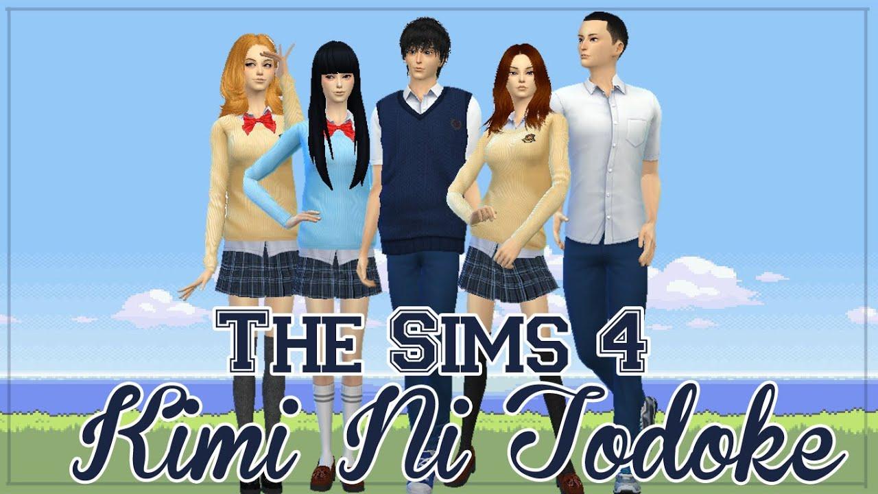 Sims 4 Anime Characters : The sims create a sim anime character kimi ni todoke