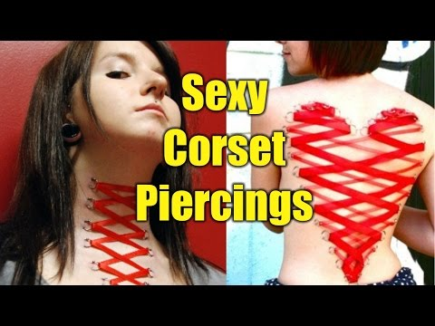 15 Crazy Sexy Corset Piercings | TATTOO WORLD