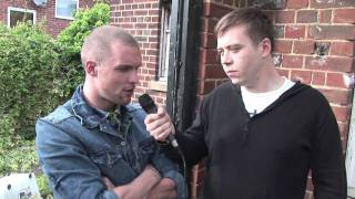 Piggy The Film - iFILM EXCLUSIVE BEHIND THE SCENES - Interview with actor Ed Skrein.