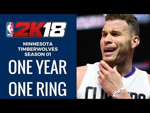 FIRST LOOK NBA 2K18 Rebuild. Better Than Live? - Minnesota Timberwolves Season 01 NBA 2K18 MyLeague