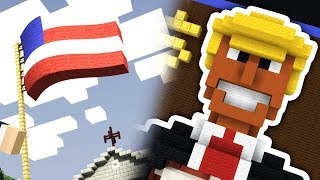DONALD TRUMP IN MINECRAFT!