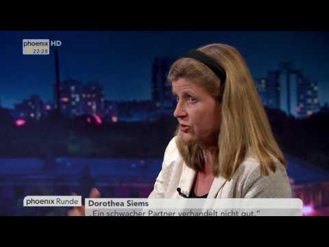 """""""Chaos in London – Was wird aus dem Brexit?"""" - phoenix Runde vom 13.06.17"""
