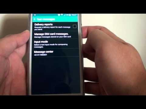 Samsung Galaxy S5: How to View and Manage SIM Card Messages