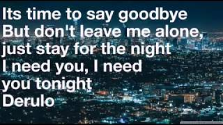GOODBYE BY JASON DERULOxDAVID GUETTA FEAT. NICKI MINAJ & WILLY WILLIAM-LYRICS