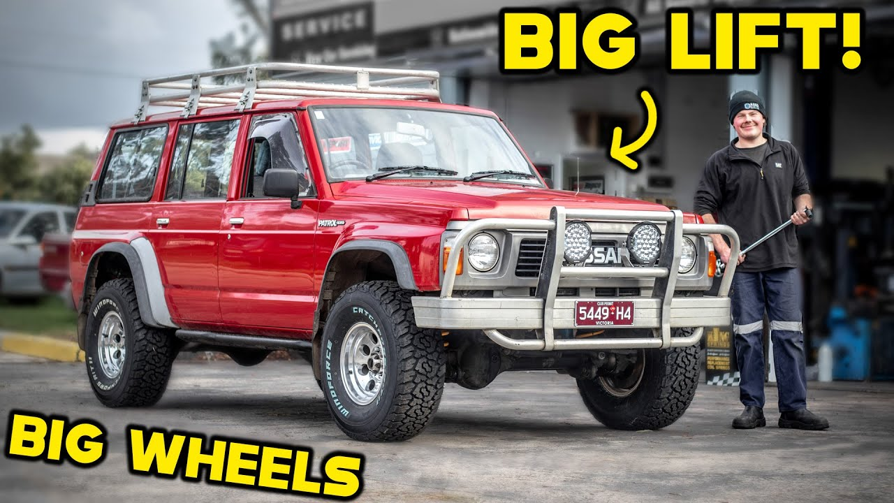 BIG LIFT on Dan's GQ! How to CORRECTLY lift your 4WD!! DO's & DON'T's