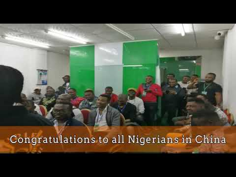 Ikenna Ogbonna & New Executives elected in China