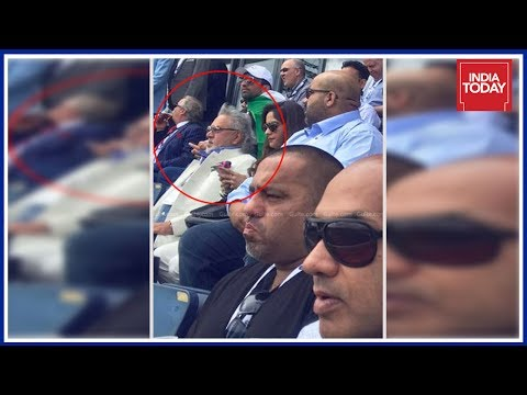 Absconding Vijay Mallya Enjoying India-Pak Cricket In UK