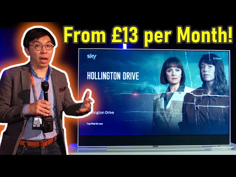Sky Glass - A 4K QLED TV with FALD, Dolby Vision + Atmos & Dish-Free Sky!