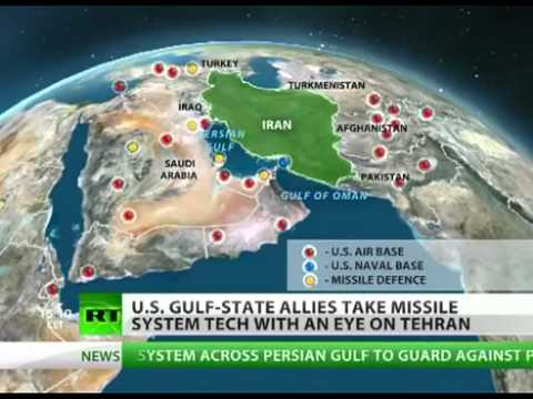 Pretext WW3: US & ARAB allies building HUGH MISSILE DEFENCE shield (PROTECTION or WORLD DOMINATION?)