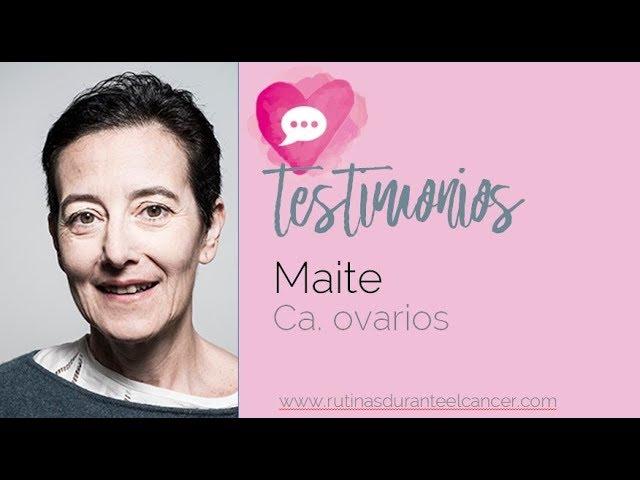 Maite Juárez, Ca. ovarios