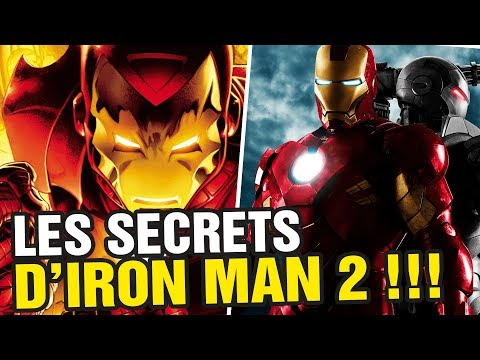 LES SECRETS ET EASTER EGGS D'IRON MAN 2 !