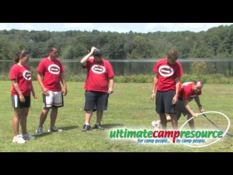 Team Building Activity - Hula Hoop Pass