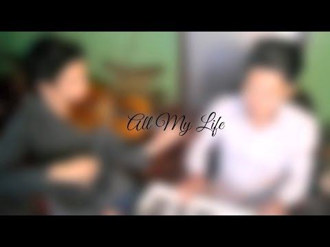 All My Life by Kc and Jojo Violin and Keyboard Instrumental Cover