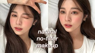 NATURAL NO-FILTER MAKEUP | Babyjingko