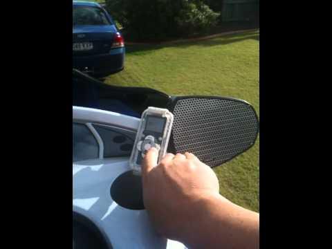 Yamaha Vx Deluxe >> Yamaha wave-runner Ipod stereo - YouTube