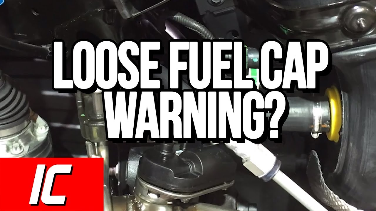 Loose Fuel Cap Warning? | Tech Minute - YouTube