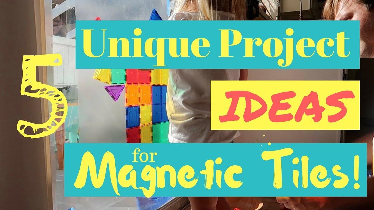 5 Unique Ideas for Picasso Tiles - Magna-Tile Projects - Fun DIY ...
