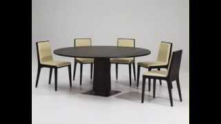 Modern Contemporary Round Dining Table Design Ideas