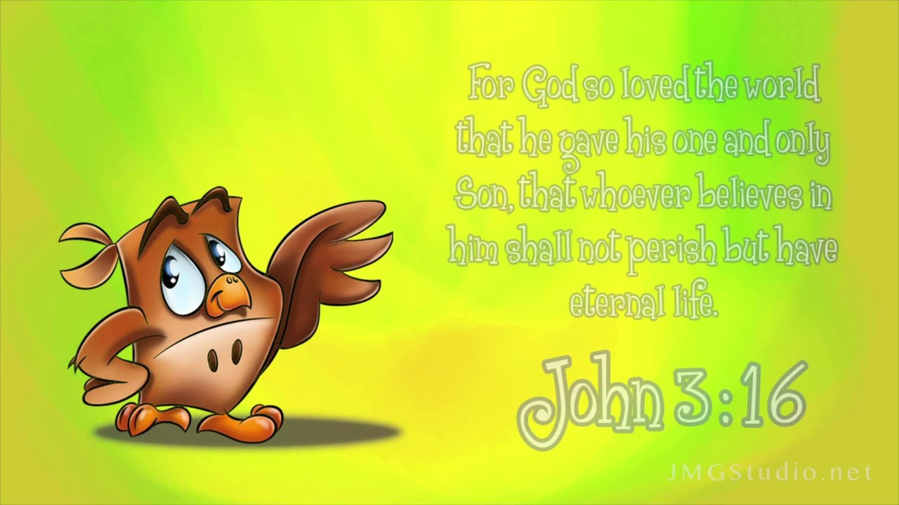 Kids Read From The Bible John 3 16